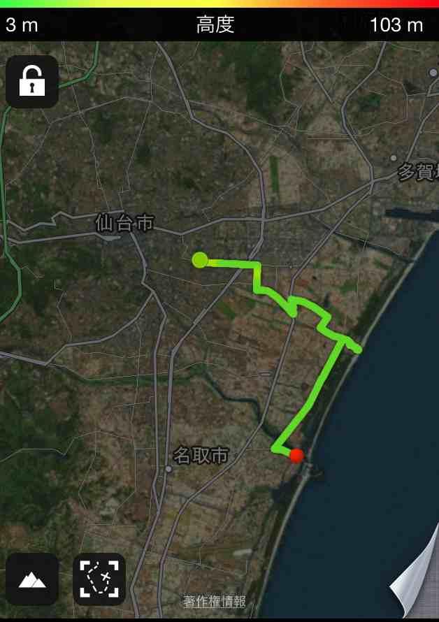GPSロガーとしてiPhoneアプリRuntasic Proを使ってみました・・・