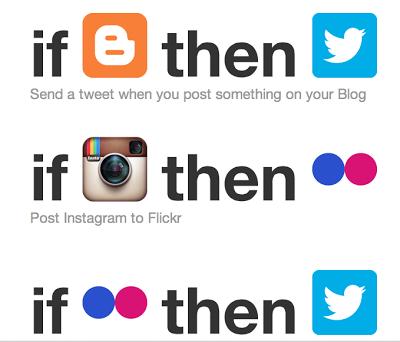 何かと便利な「ifttt」を使ってみました