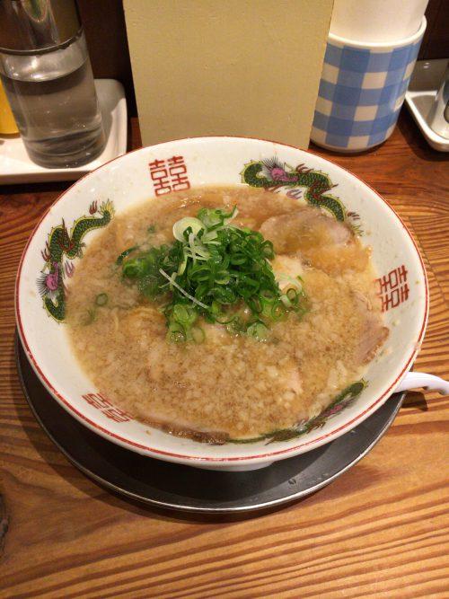 予想に反して美味しかった京都「ますたに」の中華そば