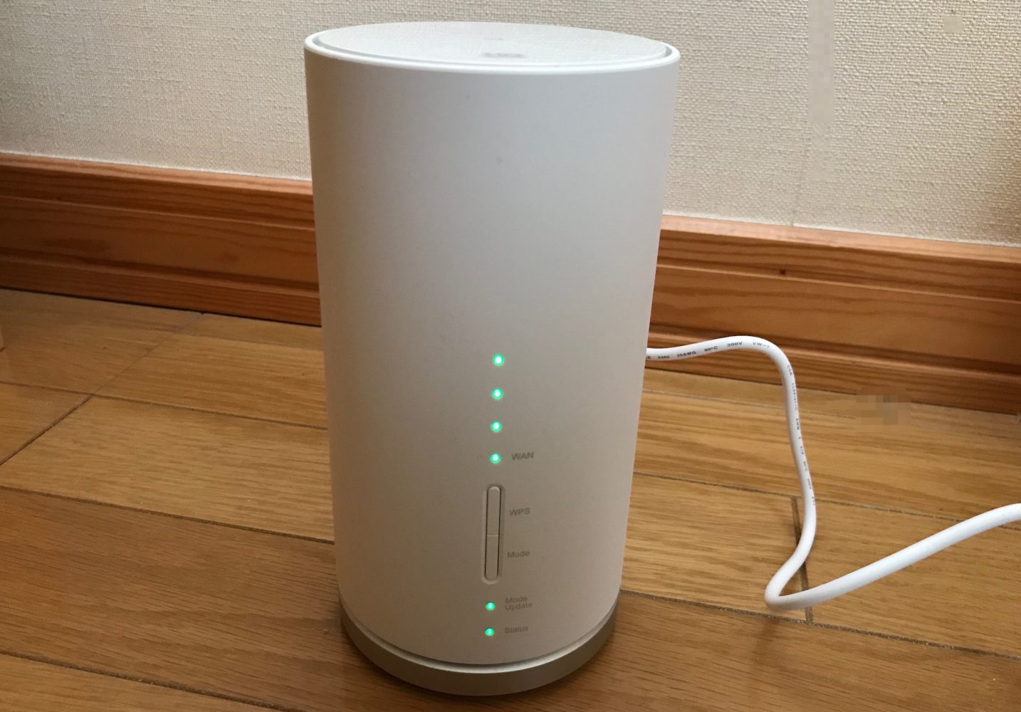 WiMAXホームルーターSpeed Wi-Fi HOME L01s開通!意外に速いけど…