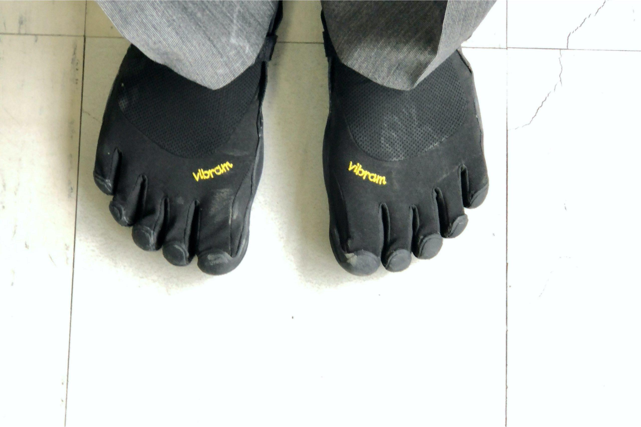 ビブラム・ファイブフィンガーズを履き始めて